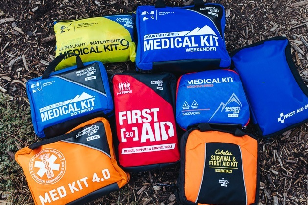 First Aid Kit for Hiking and Outdoors