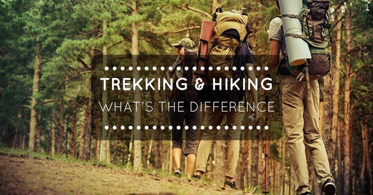 Difference Between Hiking and Trekking